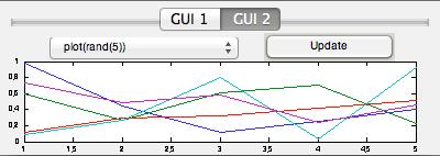 Matlab GUIDE Tab 2